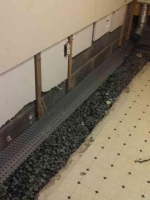 Gravel and Drainage Board Installation